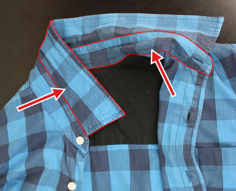 Vista camisa