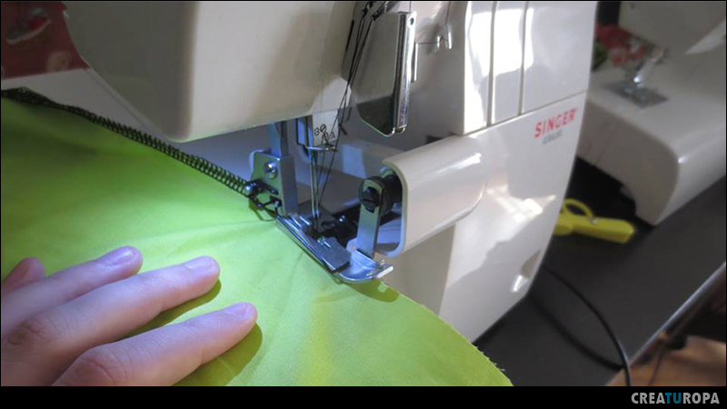 crear una prenda - remallar