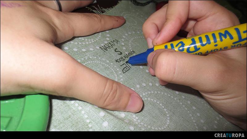 crear una prenda - labeling