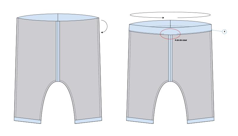 pantalones de bebé DIY 05
